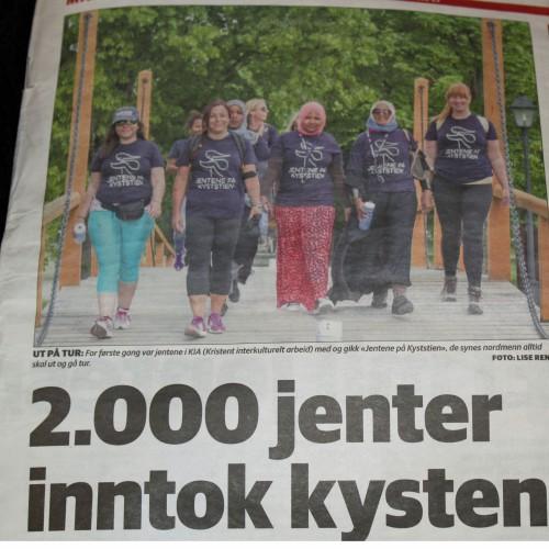 """Tidenes flotteste ØP- forside etter """"JPK"""" noen gang. Jenter som ønsker å integreres i det norks samfunn!"""