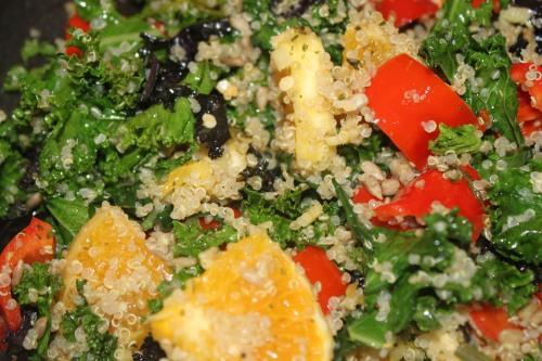 Salat med vitamin-boost